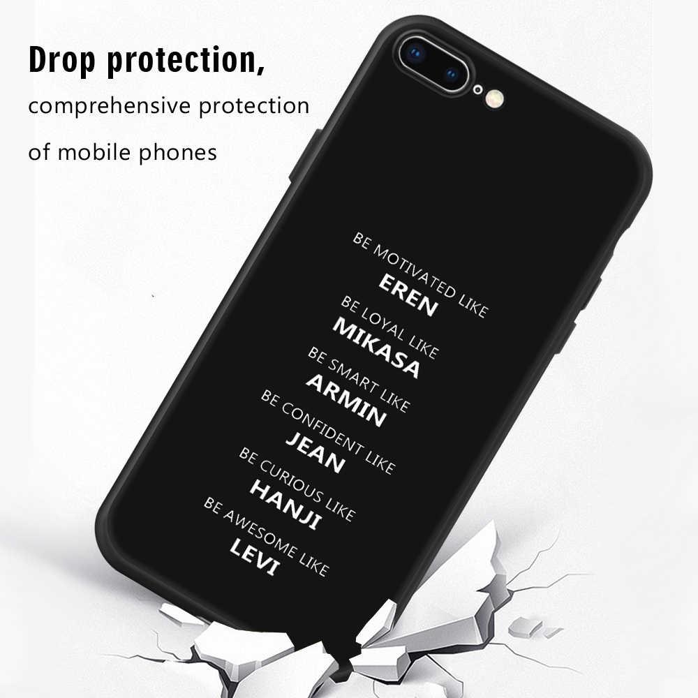 Lembut TPU Silikon Dicetak Penutup Case untuk iPhone 6 6 S 7 7 Plus X XR X Max Slim Pelindung ponsel Shell UNTUK iPhone 5 5 S Se Kasus