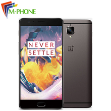 Original Oneplus 3T A3010 Mobile Phone Snapdragon 821 6GB RAM 64GB ROM 5.5 inch 16MP Camera Fingerprint ID NFC 4G LTE SmartPhone