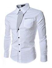 Стильный свадебное лучшие slim продажи fit рубашка рубашки весна топы повседневная