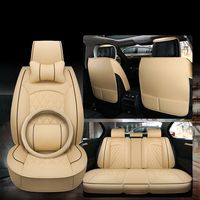 WLMWL Universal Leather Car seat cover for MG all models MG7 MG5 MG6 MG3 ZS car accessorie car styling auto Cushion