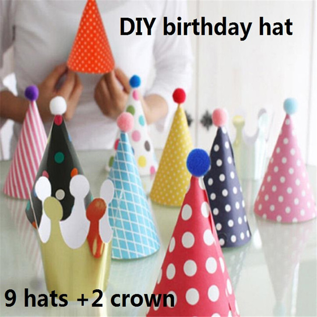 diy 11 set of children s birthday party supplies party decoration