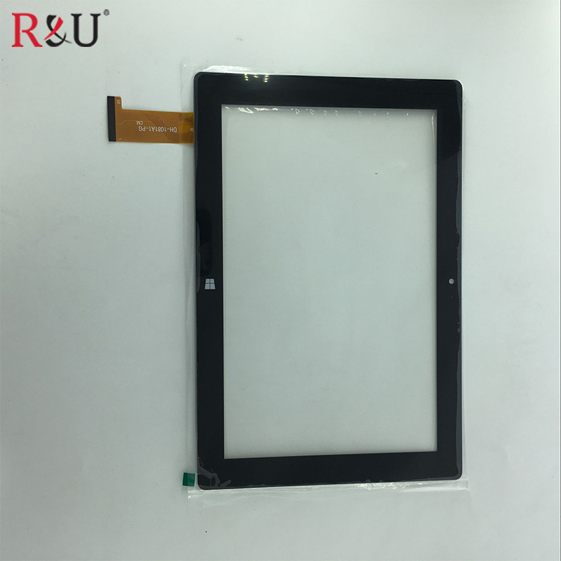 Black 10.1 Inch P/N DH-1081A1-PG FHX tablet pc capacitive touch screen glass digitizer panel
