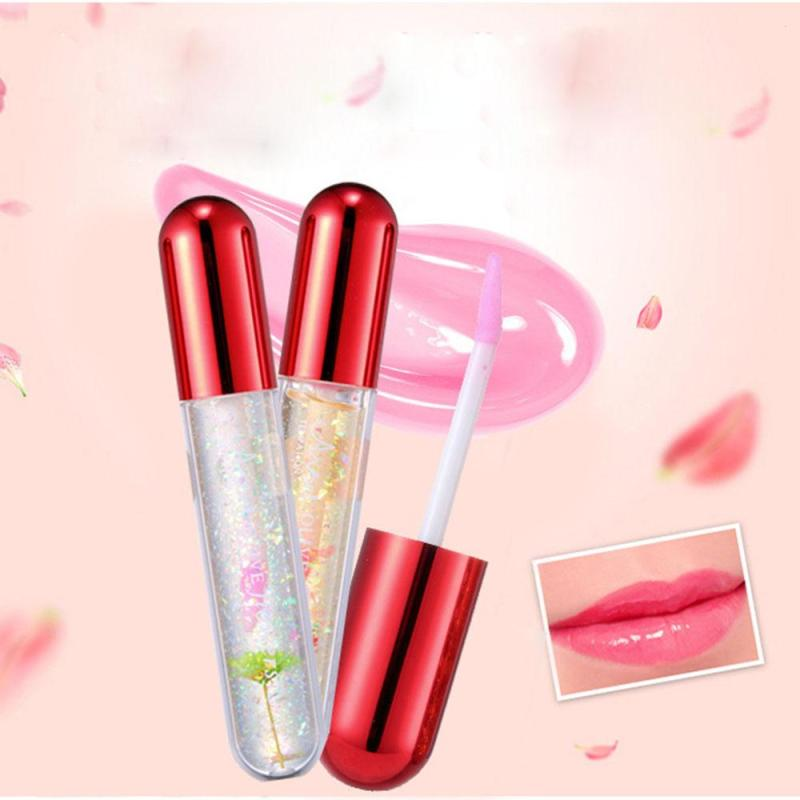 Liquide Lipstick Flower Cosmetics Temperature Color Change