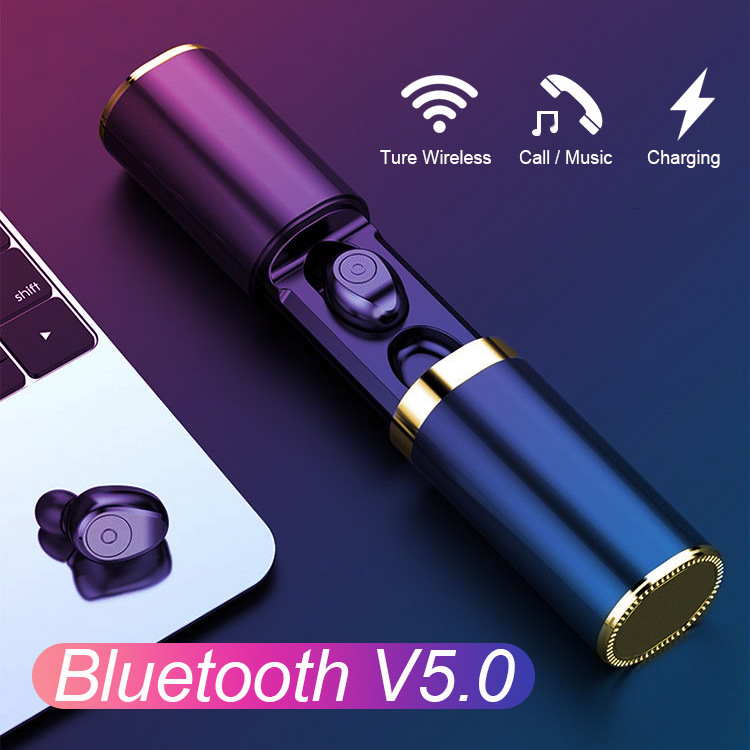 F9 TWS Bluetooth 5 0 Wireless Earphone In Ear Headphones Handsfree Earphones Headphone Sport Earbuds Headset For Phone With Mic in Bluetooth Earphones Headphones from Consumer Electronics