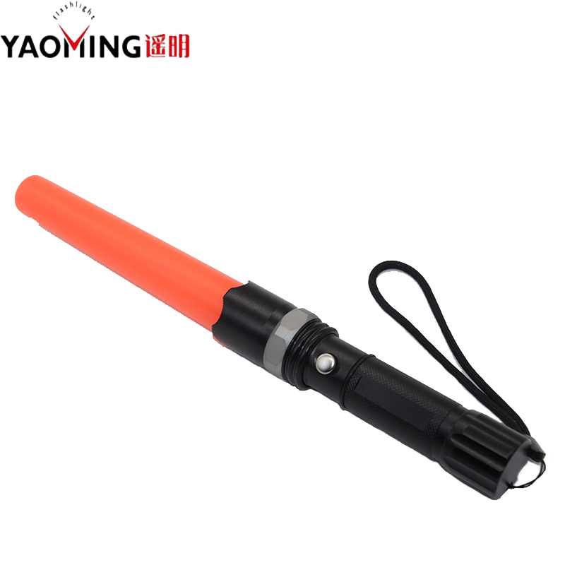 Rechargeable Flashlight for Hunting Cycling Climbing Camping Directing traffic wand Police flashlight