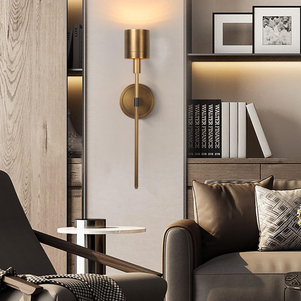 Хромированный Хрустальный настенный светильник для спальни прикроватный современный светильник на стену приспособление для дома lampara pared