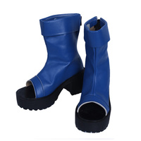 Naruto Uchiha Sasuke Uzumaki Naruto Cosplay Shoes Boots Professional Handmade Perfect Custom For You