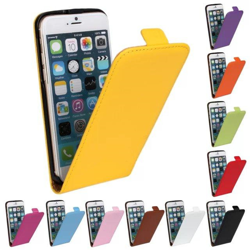 Funda para iPhone 6 6s Plus Cartera Flip Style Funda de cuero PU de lujo para iPhone 7 Funda iPhone 5s Funda Coque i Funda para teléfono