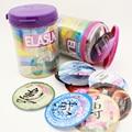 ELASUN Preservativo clásico Ultra Thin serie Pasión 0.04mm Natural Condones de Látex Para Hombres 12 unids adultos punto G estimulación