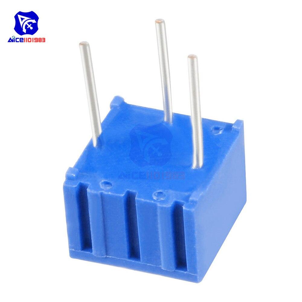 3362P Adjustable Potentiometer Cermet Trimmer Pot 50R 100R 200R 500R 1K-500K
