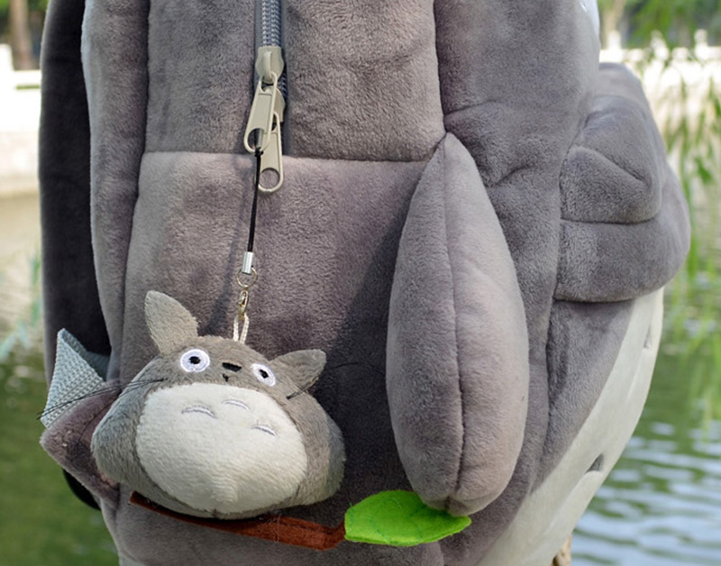 Totoro Children Backpack Plush Baby School Bag Teenagers Shoulder Bag Kid Hayao Miyazaki Toys Boy Girl Schoolbags Mochila BP0175 (5)