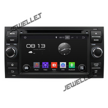 Octa core 1024*600 HD экран Android 8,0 автомобильный DVD gps радио навигации для Ford Focus Fiesta 2004- 2007 с 4 г/Wi-Fi, видеорегистратор, 1080 P