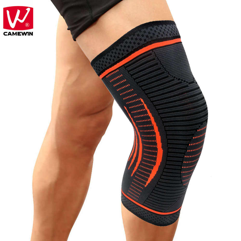CAMEWIN 1 PCS Knee Sleeve-Best Knee Brace for Joint Pain Relief,Arthritis,Injury Recovery-Effective for Running,Sports,Fitness