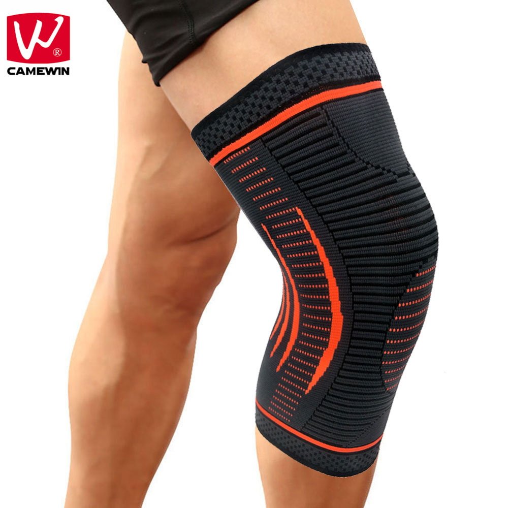 CAMEWIN 1 PCS Knee Sleeve-Best Knee Brace for Joint Pain Relief,Arthritis,Injury Recovery-Effective for Running,Sports,Fitness camewin 1 pcs knee brace knee support for running arthritis meniscus tear sports joint pain relief and injury recovery