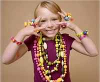 No Rope Needed 485pcs B Pop Arty Pop Arty Pop Beads Snap Together Girls Jewelry Kit
