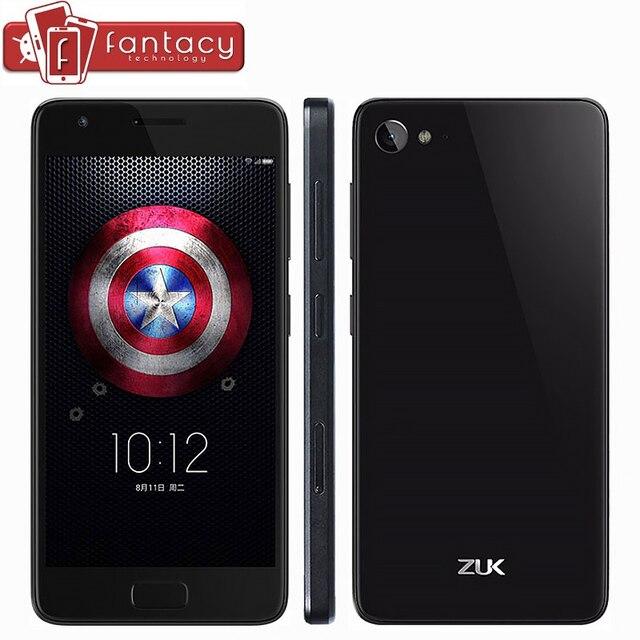 "Originele Lenovo ZUK Z2 Snapdragon 820 Mobiele Telefoons Vingerafdruk ID 4 GB 64 GB RAM FDD LTE 4G 5.0 ""1920x1080 P 13.0MP Android 6.0"