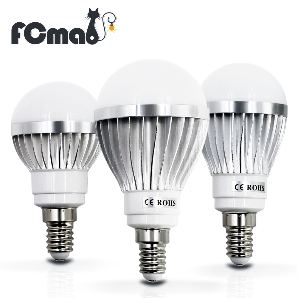 Led bulb e14 3w 5w 7w 9w 12w 220v 220v 240v cold white for Lampada led e14