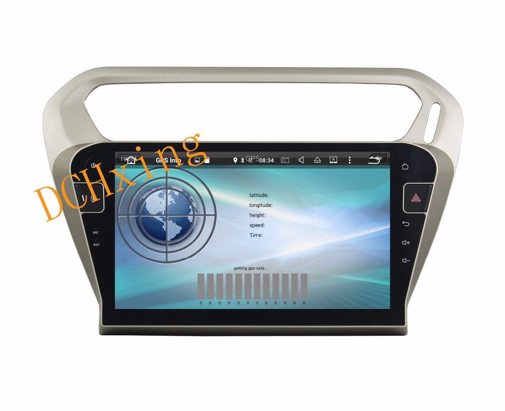 """Clearance 10.1"""" Octa Core Android 9.0 8 core 64G ROM 4G RAM Car DVD Player for Peugeot PG 301 2013-2016 Citroen Elysee GPS Radio 9"""
