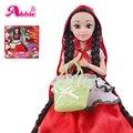 Abbie Princenss Dolls The Little Red Riding-Boneca Capuz Moda Fun Brinquedos Educativos Presente da menina Melhor Amigo Jogar com As Crianças