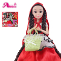 Abbie Princenss Dolls The Little Red Riding-Hood Doll Fashion Fun Educational Toys Girl's Gift Best Friend Play with Children