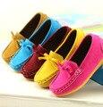 Crianças mocassins crianças 2015 crianças menino Outono sapatos carne tendão de fundo único sapatos meninos sapatas Dos Miúdos Das Sapatilhas mocassim mocassim