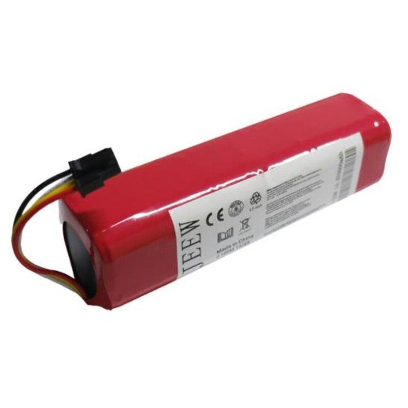 Pour Xiao mi Robot Aspirateur Batterie Li-ion 18650 Au Lithium mi Balayeuse Accessoires Pièces Bateria Rechargeable 5200 mah