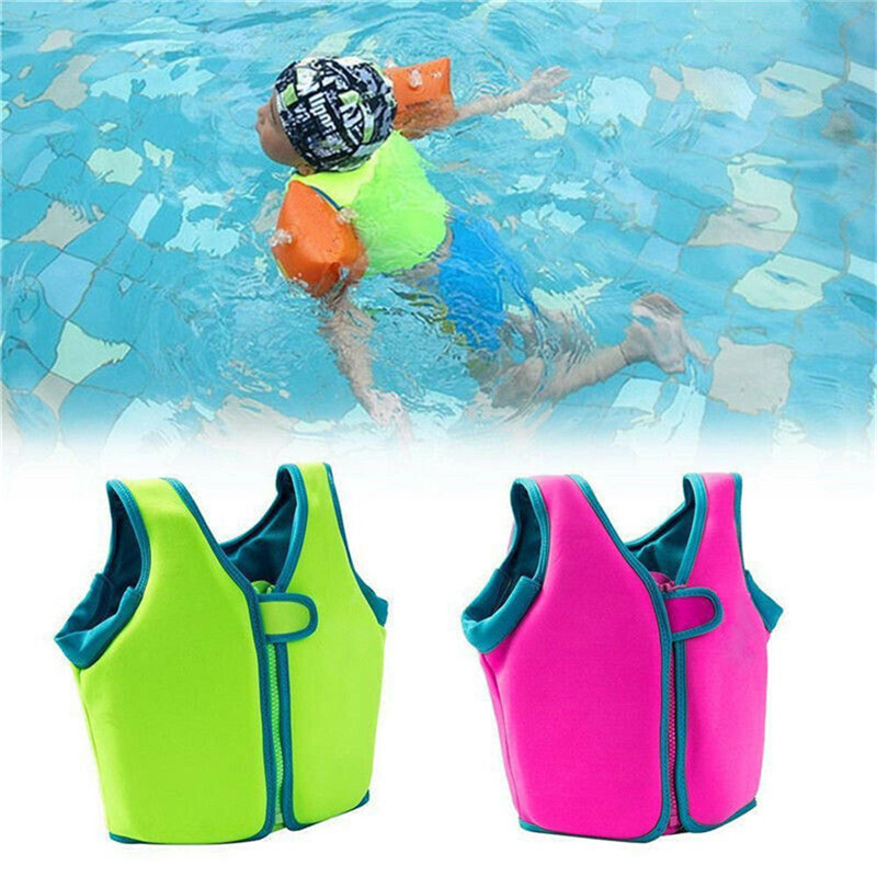 Floating Swim Aid Vest Baby Kid Safety Float Inflatable Swim Vest Life Jacket Swimming Aid Swimming Buoyancy Aid Pool Wear Float