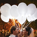 20pcs 12 inches White LED Helium Or Air Gonflable Colors Balloons Wedding Light Up Decoration Party Mariage Deco Latex