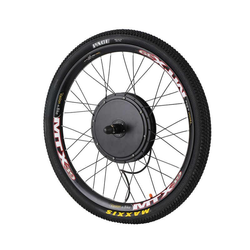 48V 1500W Cassette Motor Wheel 8/9 Speed Electric Bike Conversion Kit E Bike Set Electric Wheel for Bicycle Rear Hub Motor Wheel