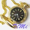 Хороший золото тон чехол редкий 18 века стиль карманные часы