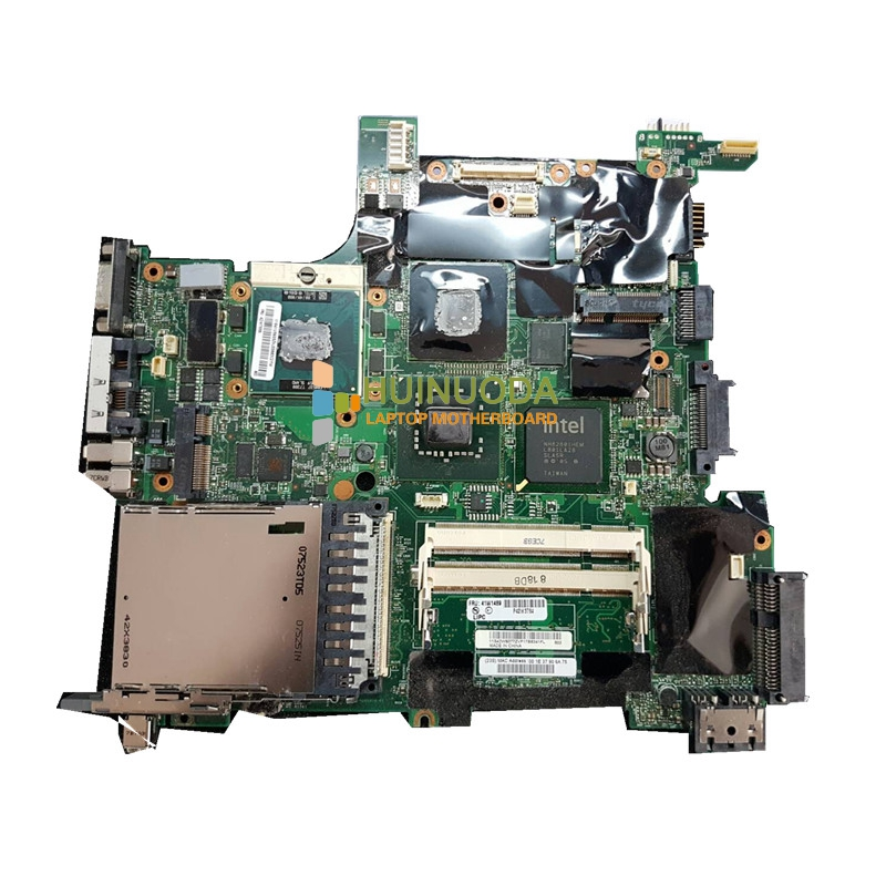 ФОТО FRU 41W1489 42W7776 Laptop motherboard For Lenovo T61 Intel DDR2 With NVDIA Graphics Card Mian board