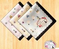 Japanese Ladies Cotton Handkerchief Sweat Cotton Handkerchief And Female Wind Standard Thickness Soft Towel