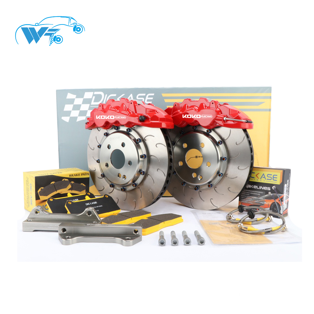 KOKO RACING car modified brake system WT8520 6 pistons calipers for Mercedes benz A180 front wheel brake set