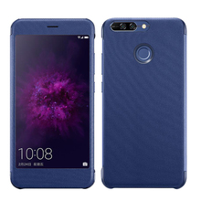 8 Pro Original From CENMASO For Huawei Honor 8 PRO Honor V9 HonorV9 8PRO Case Official Smart Window Flip PU leather Phone Cover