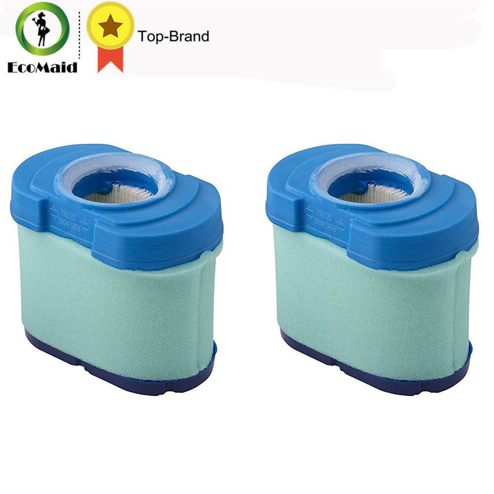 Air Filter Cleaner Pre Filter For Briggs Stratton 792105 John Deere MIU11515 GY21057 Replacement Lawn Mower Parts 2 Packs 2017 air filter combo set kit fit for 499486 499486s includes 273638 pre filter mayitr lawn mover parts