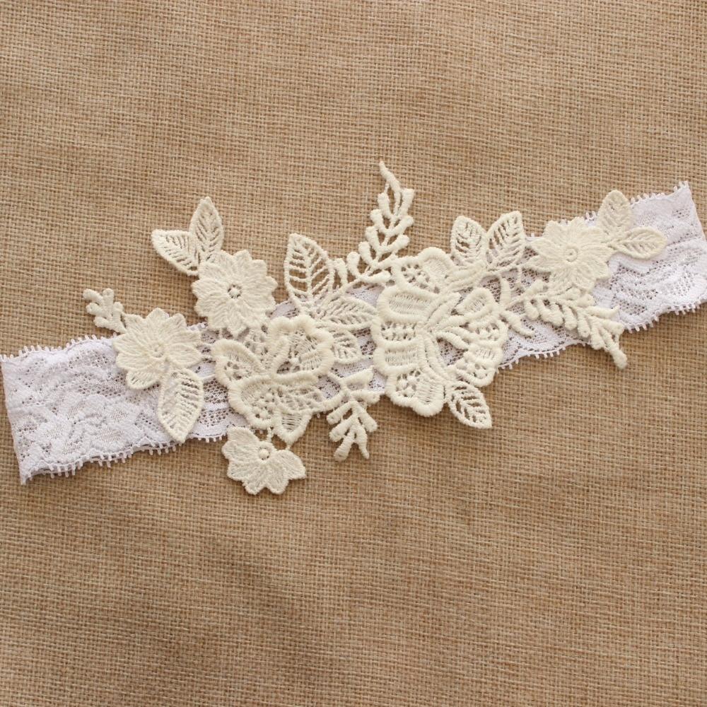 Wedding Garter, Customizable, Bridal Garter, Lace Garter