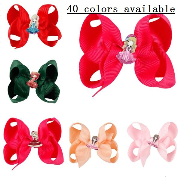 Accessories Hair Accessories 40 Colors 3 Inch Lovely Flower Girl Hair Bow Clip Cute Hair Clip Small Bow Knot Hairpin Hair Accessories Hair Ornaments 20pcs/ Pleasant To The Palate