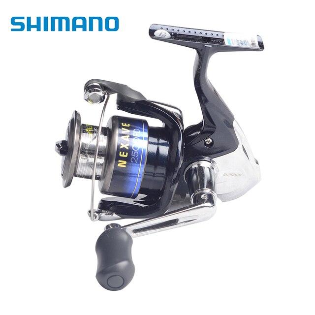 e856cef268c Shimano NEXAVE 2500FD 3000SFD 4000FD 4BB Front Drag Fishing Spinning Reel  Saltwater Carp Fishing Wheel + extra spool