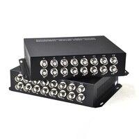 16channel VGA Video Multiplexer 1 Way Reverse Data Optical Data Digital To Fiber Optical Converte For