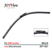 S510 Auto Wiper Blade 24 21 Fit For GMC Acadia 2011 Onwards Windscreen Wiper Blade Essuie
