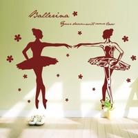 Двойной балет школа музыка танец студия стекло жестяная банка быть двойной рисунок один
