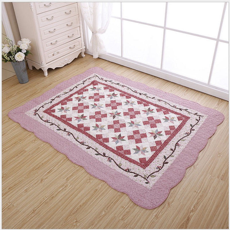 2017 New Fashion Japanese Style Simple Delicate Nonwoven Carpet For Decorate Living Room Bedroom Large Soft Rug Kid Climb