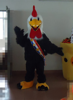 OISK Custom Rooster Mascot Costumes Christmas Birthday Party Womens Mens Mascots Suit Fancy Dress Carnival Outfit Adult Size