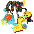 Newborn Baby Soft Plush Rattle Toys Bed Arround Baby Stroller Crib Bells Animal Stuffed Mobiles for Infant