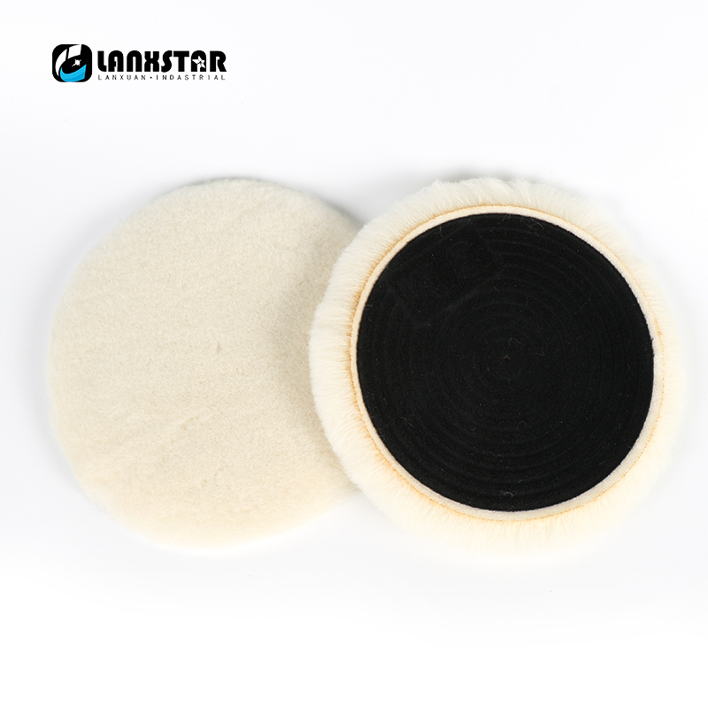 In Stock 3 -7 Premium Quality Knit Buffing Pad Self-adhesive Wool Polishing Ball Car Motorcycle Paint Care biaobang car polishing wax w sponge pad 200g