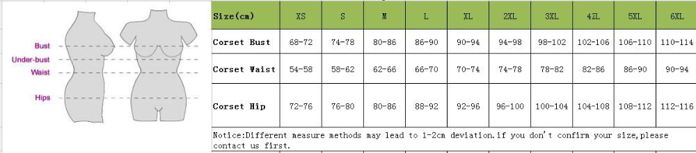 Size chart aliexpress
