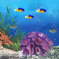 Resin Simulation Coral Reef Fish Tank Aquarium Landscape Home Ornaments