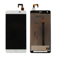 Original For Ulefone Power LCD Display With Touch Screen Digitizer Assembly 5 5 MTK6753 Smartphone Black