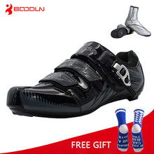 Boodun Men Road Cycling Shoes Bicycle Athletic Racing Sports Shoes Bike Professional Self Locking Shoes zapatillas