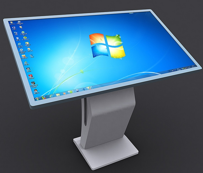 42 Inch CCTV Monitor Lcd Touch Table Kiosk All In One PC All In One